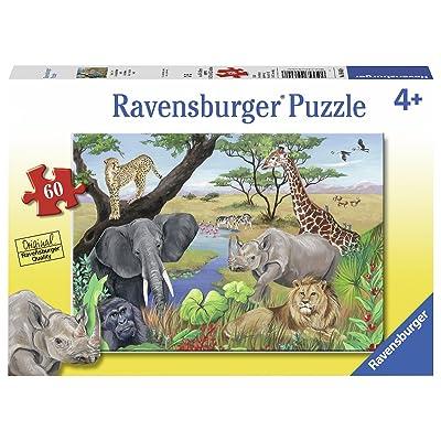 Ravensburger 09600 Safari Animals Jigsaw Puzzles: Toys & Games