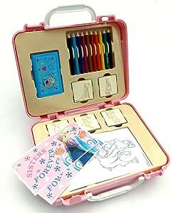 Frozen Manualidades maletín Juego de sellos Set de manualidades (con accesorios, fabricado en Europa: Amazon.es: Juguetes y juegos