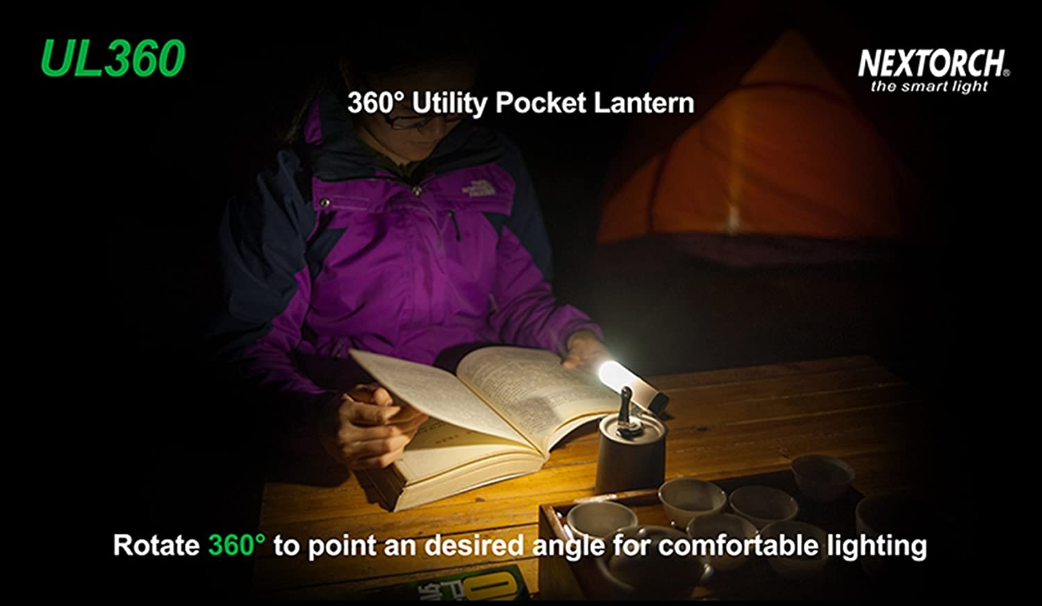 High Lumens Water Resistant NEXTORCH UL360 Portable Camping Lantern Emergency Preparedness and Tactical Gear Tactical Outdoor and Camping Gear