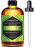 Tea Tree Oil, Highest Quality Triple AAA+ Grade Tea Tree Essential Oil, 45% terpenin-4-ol (Australia) 100% Pure and Authentic, 1 fl. Oz - Pure Body Naturals
