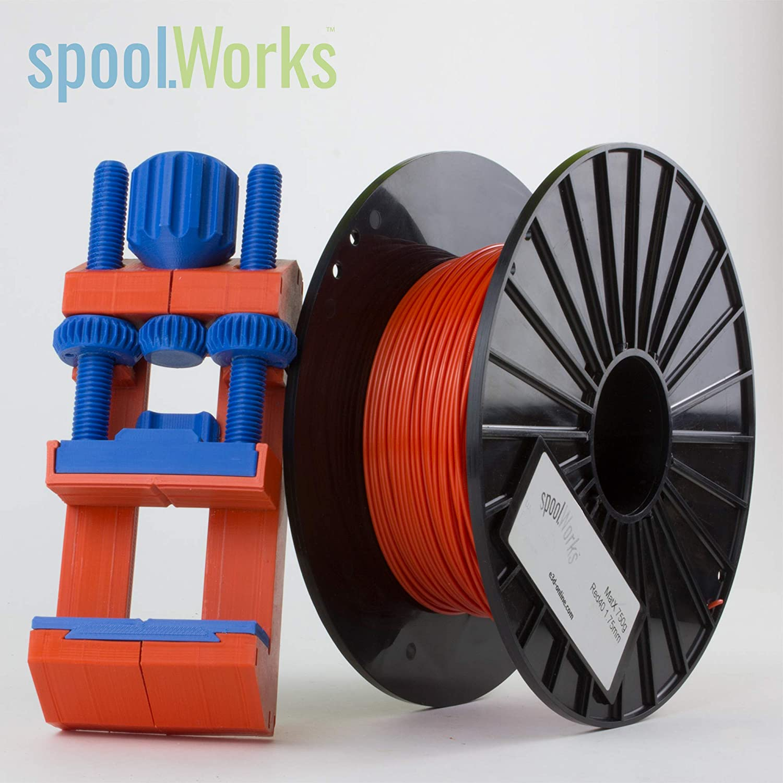 E3D spoolWorks MatX Filament (1.75mm, Blood Orange)