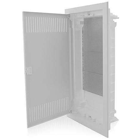 Multimediaverteiler Unterputz 4-reihig IP40 für Ordnung der Multimediasysteme