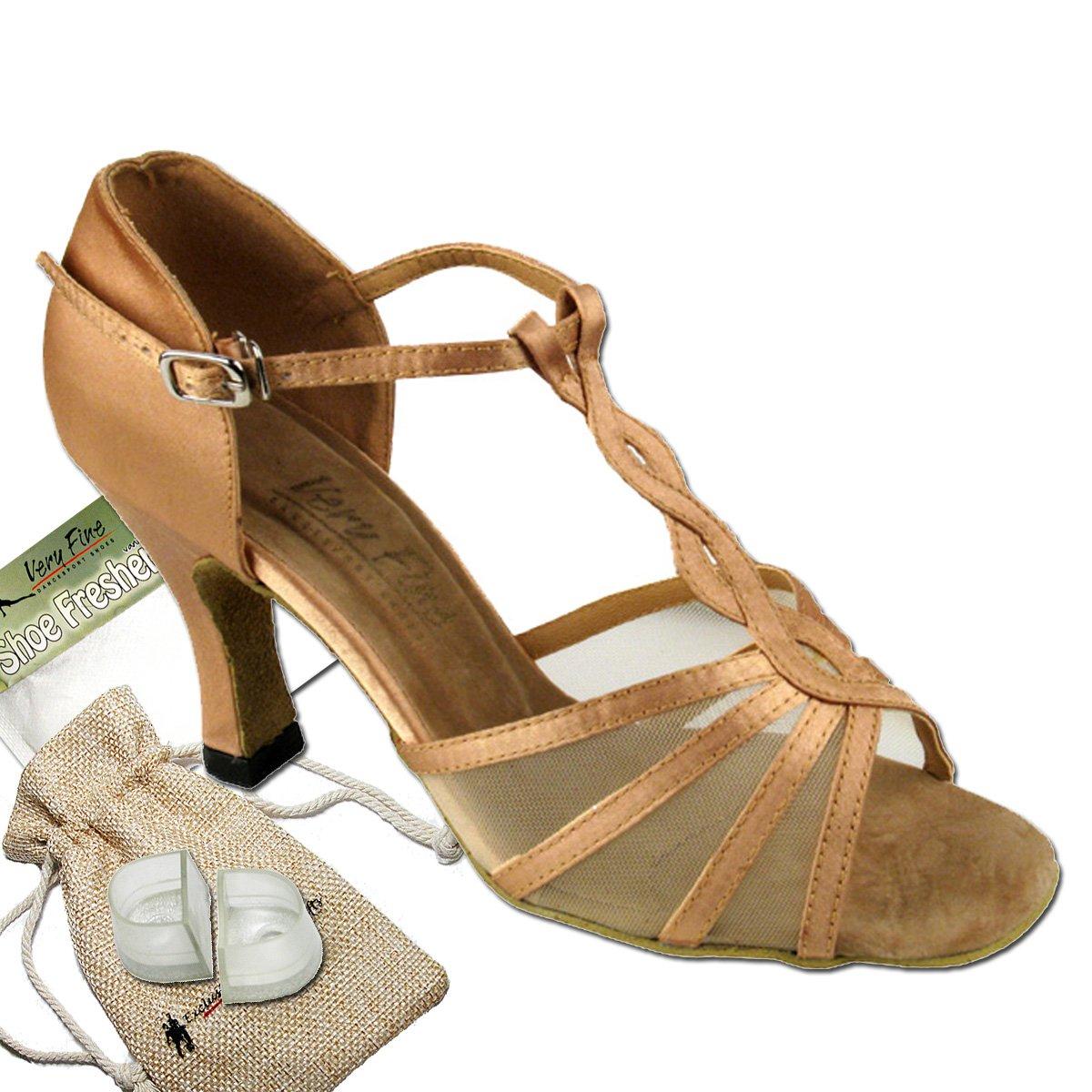 レディース社交ダンスシューズウェディングサルサタンゴ靴1692eb comfortable-very Fine 2.5
