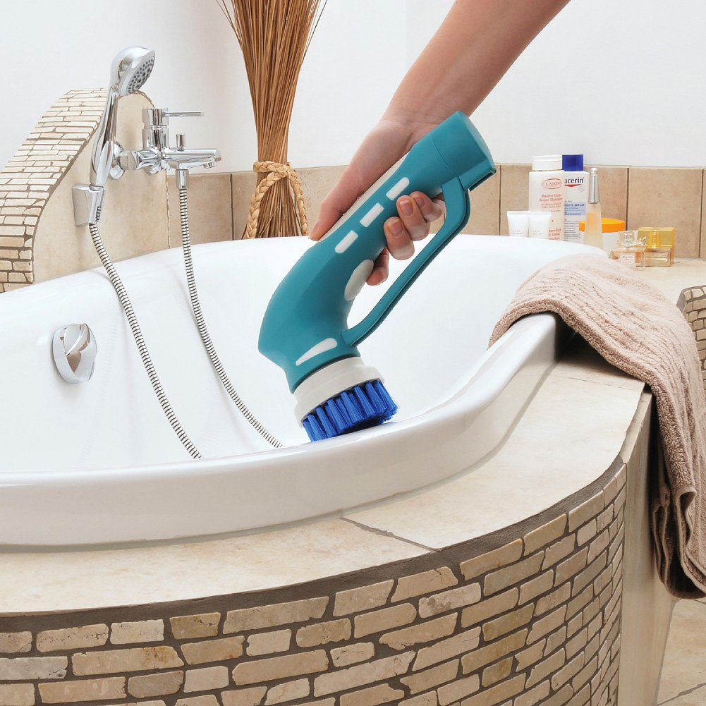 Amazon.com: Cleaning Scrubber, Electric Power Handheld Cordless ...