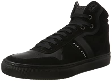Enlight_hito_sdmx 10201677 01, Baskets Montantes Mens, Noir (Black), 43 EUBoss Green by Hugo Boss