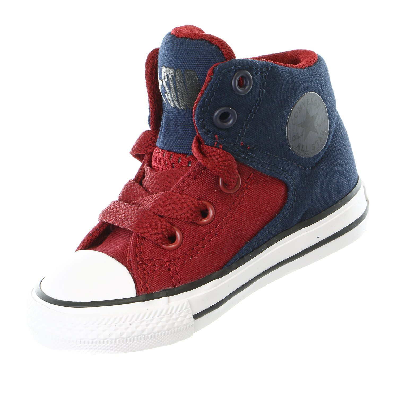 Converse Infant Chuck Taylor All Star High Street Hi Fashion Sneaker -  Obsidian/Red/Blue - Boys - 10: Amazon.ca: Shoes & Handbags