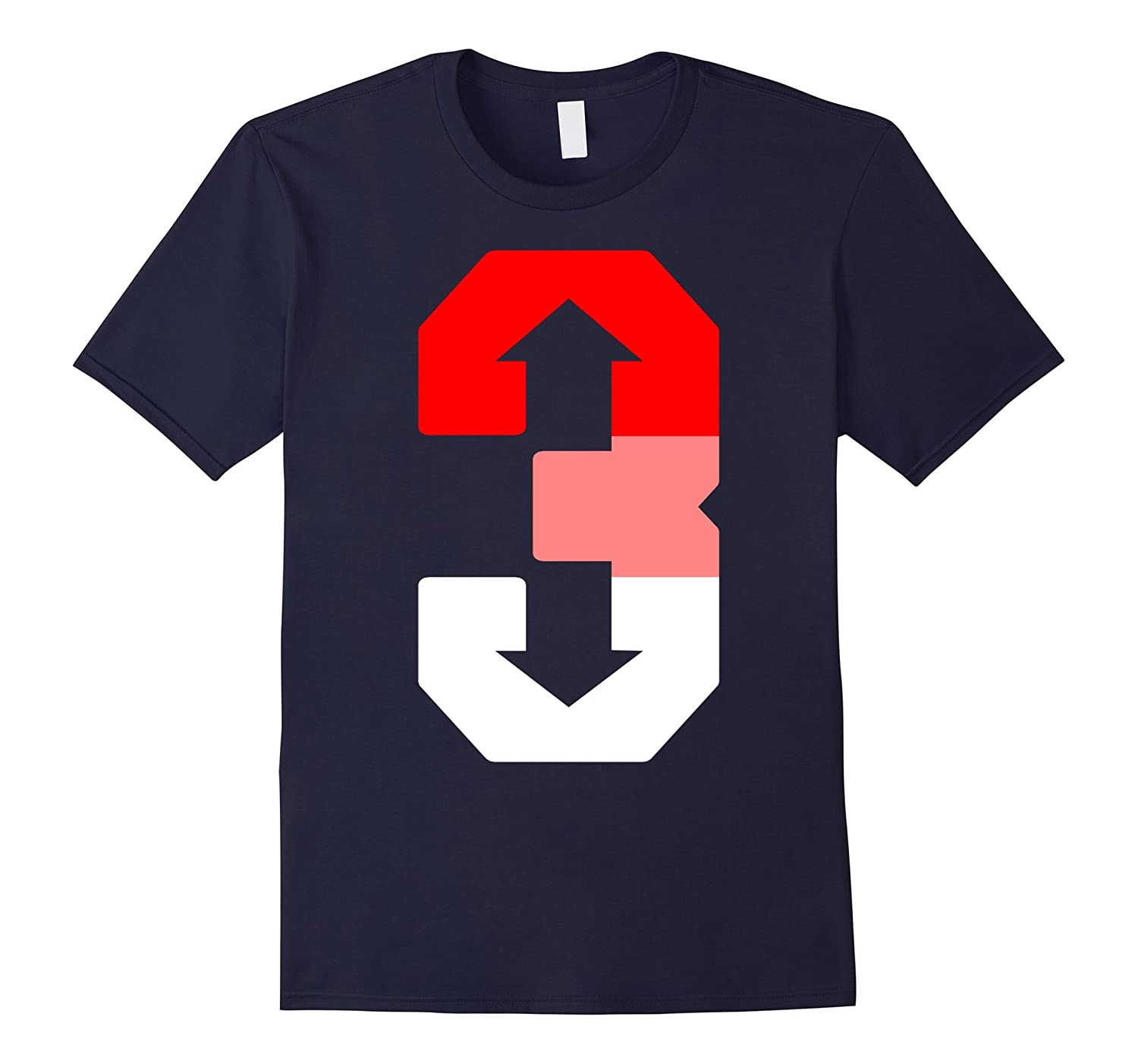3 Up 3 Down Baseball Shirt Gift-BN