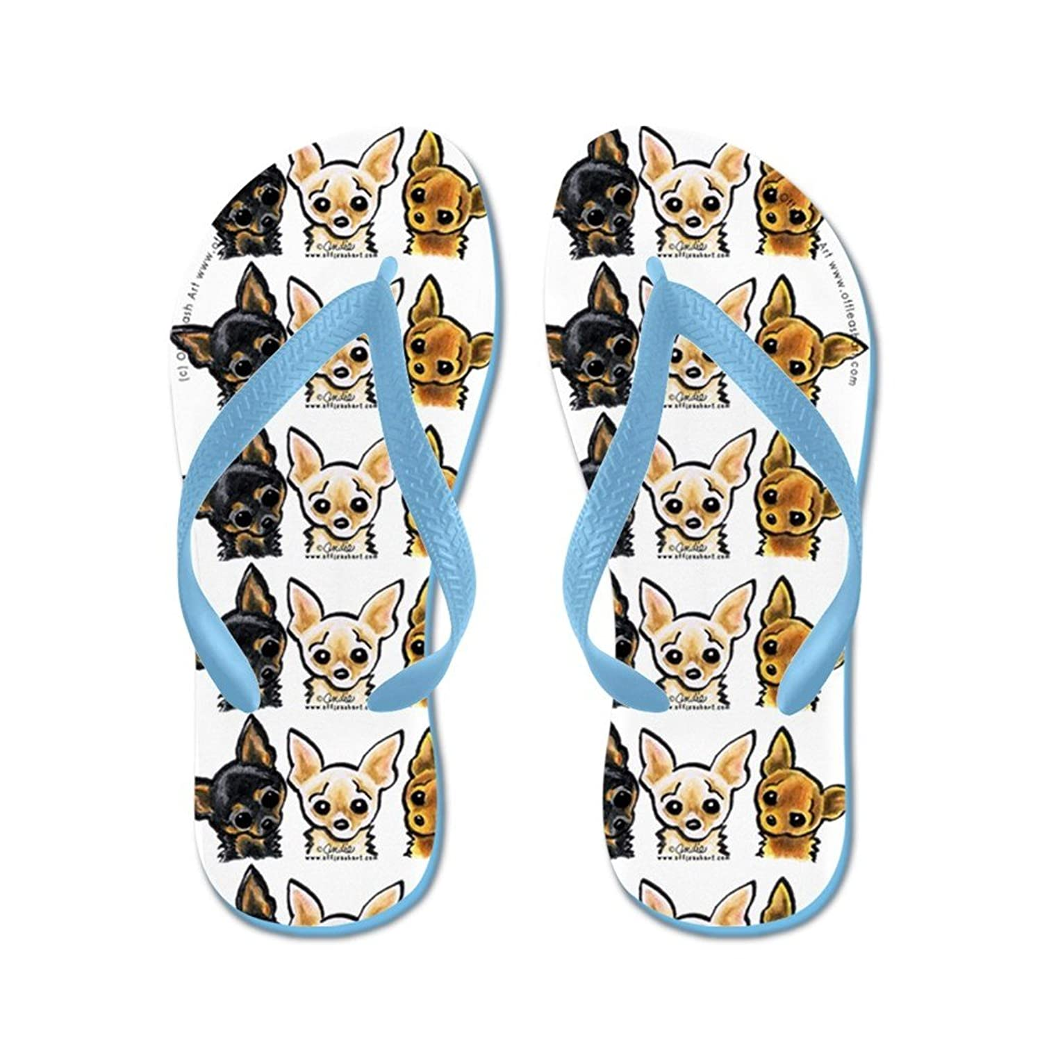9f940a49a009 Lplpol 3 Smooth Chihuaha Flip Flops for Kids Adult Unisex Beach Sandals  Pool Shoes Party Slippers