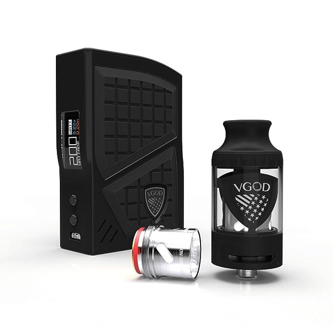 Auténtico VGOD Pro 200 Box Mod Kit, VGOD Pro Mod con Pro SubTank ...