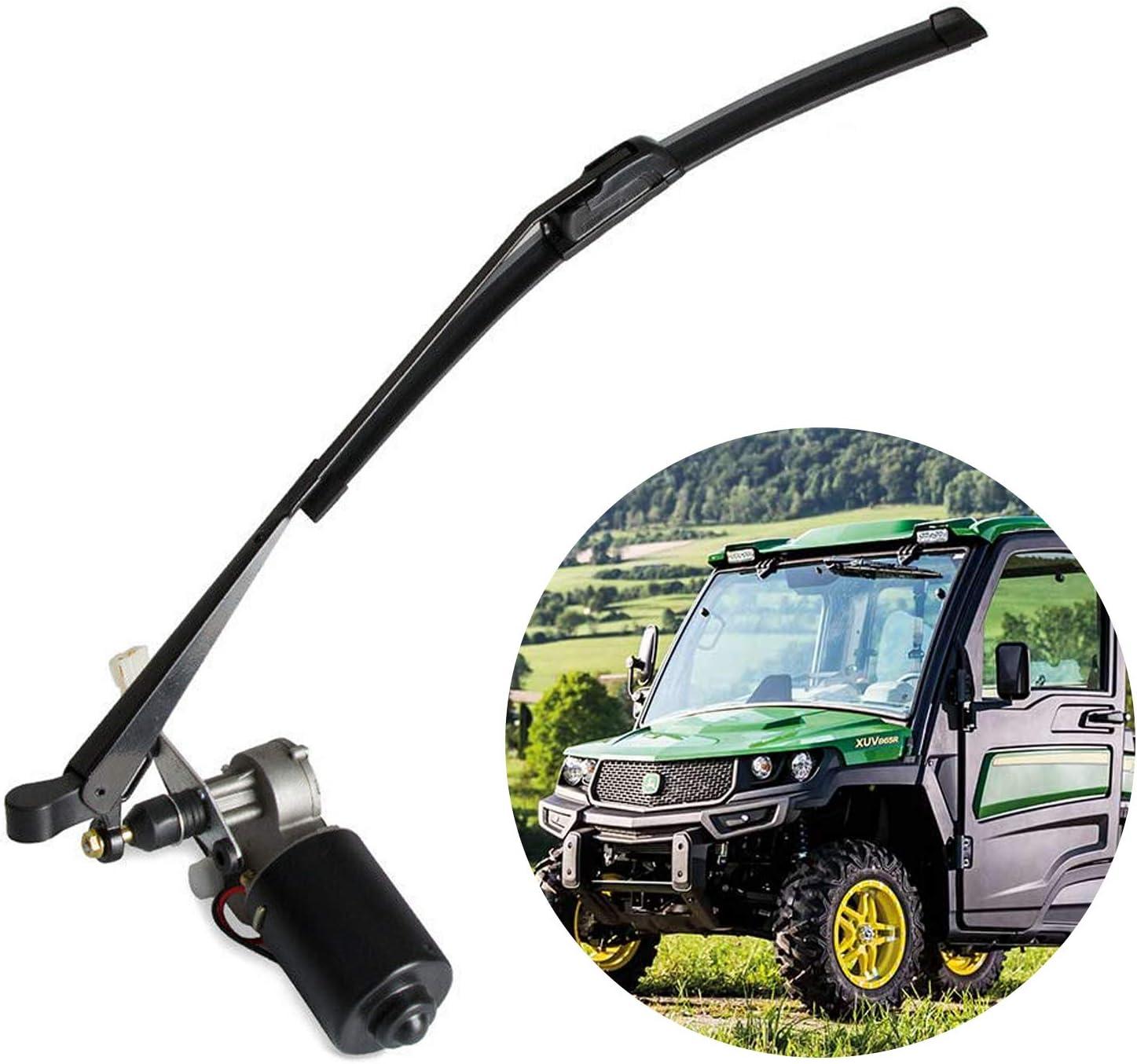 UTV Electric Windshield Wiper Motor Washer Reservoir Kit for Polaris Ranger X3