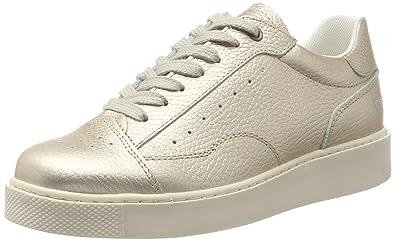 Tamaris 23685, Sneakers Basses Femme, Blanc (Champagne), 42 EU