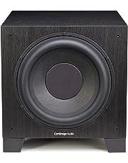 Cambridge Audio Aero 9 Premium Home Cinema Active Subwoofer - 500 Watts Class D Amplifier, 10'' Driver (Black)