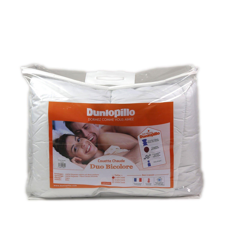 Dunlopillo Duo Steppbett Weiß 240 x 260 cm
