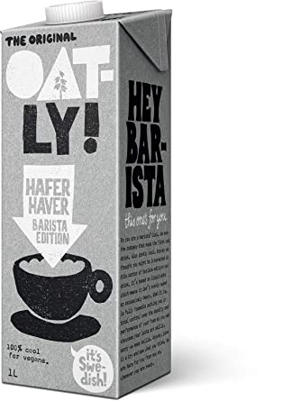 Oatly - Oat Drink - Foamable - 1L (Case of 6)