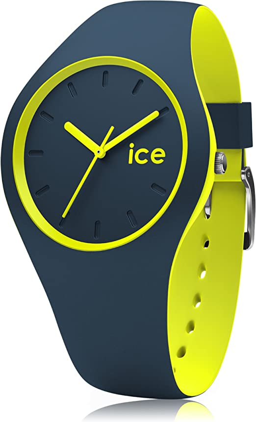 Ice Watch ICE duo Safety blue Montre bleue pour garçon avec bracelet en silicone 012970 (Small)