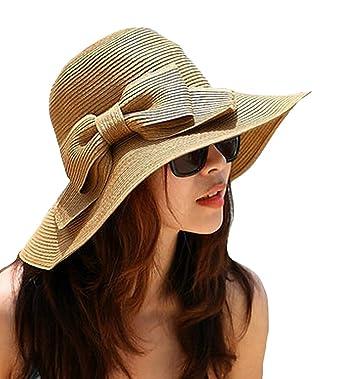 La Haute - Sombrero de paja para mujer 1eff586bf68