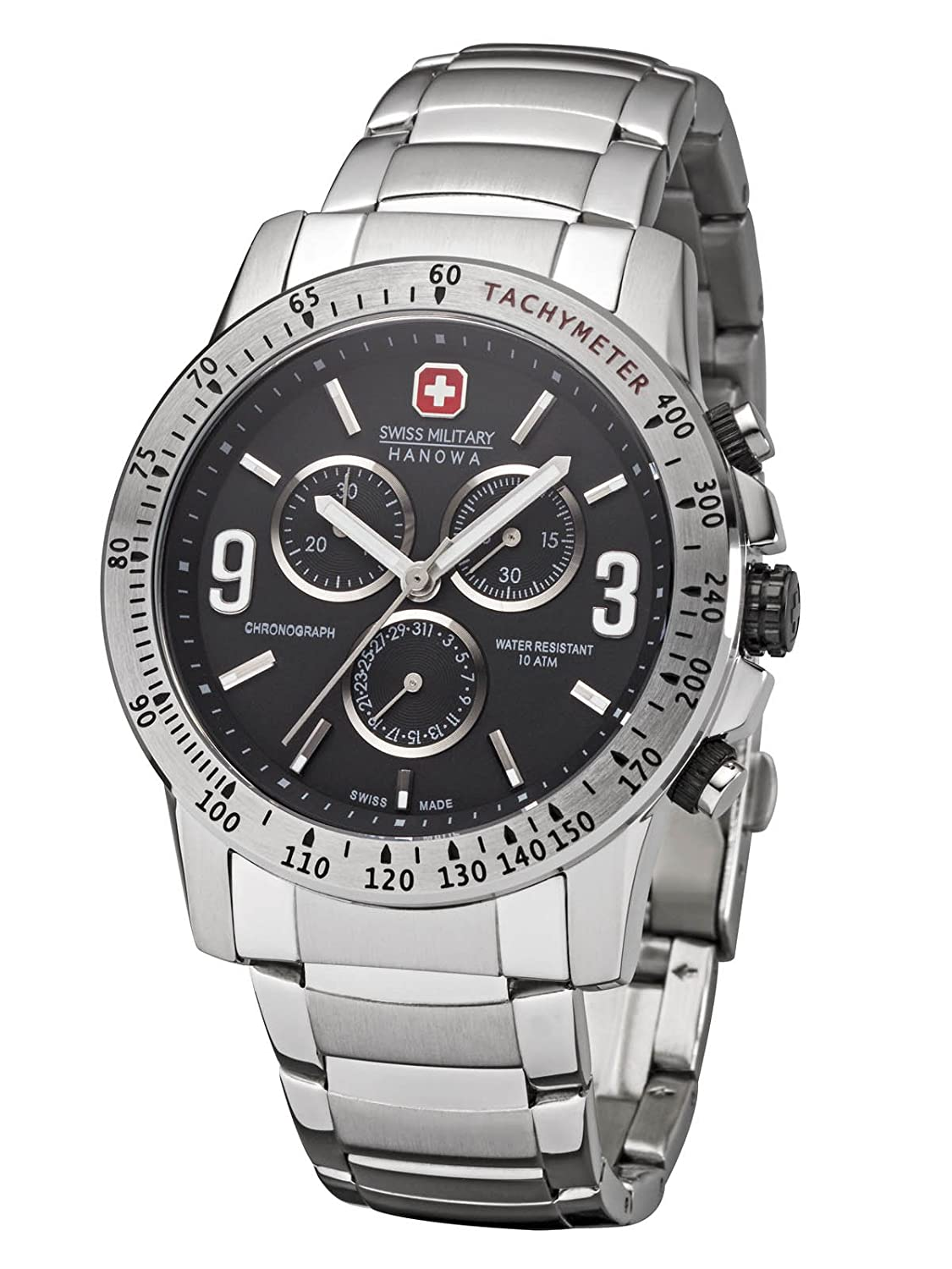 Swiss Military Hanowa Crusader Herrenuhr Chrono 06-5267.04.007