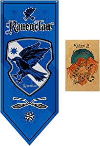 TianLin Garden Flag Decoration for Harry Party Potter Gryffindor Slytherin Hufflepuff Ravenclaw Poster Banner