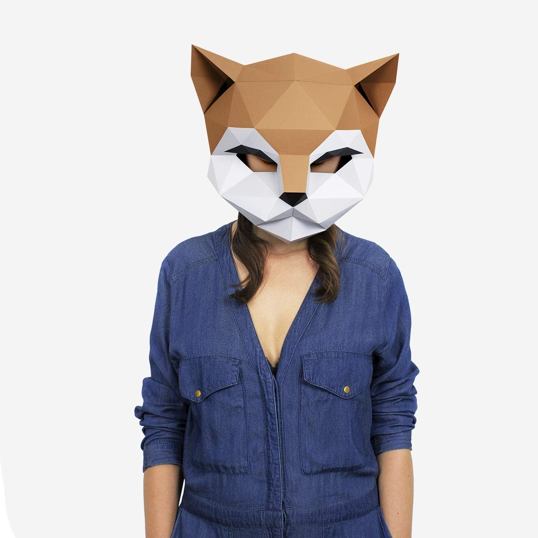 Máscara Gato | Disfraces, Fiestas | Máscara Disfraz Halloween ...