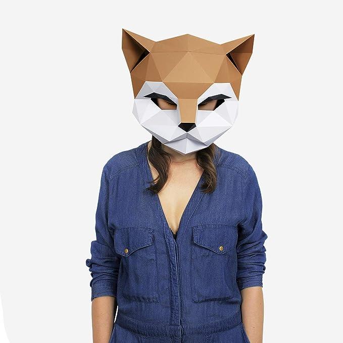Máscara Gato   Disfraces, Fiestas   Máscara Disfraz Halloween ...