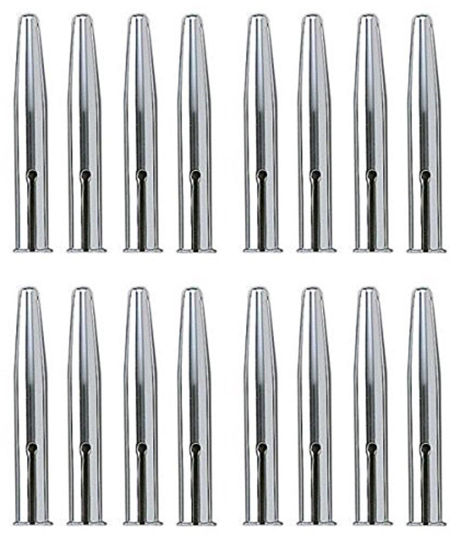 16 Tapas para lapiz de metal