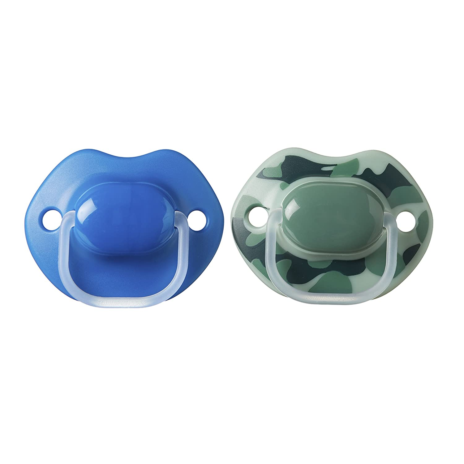 Pack of 2 Tommee Tippee Urban Style Soother Blue 6 to 18 Months