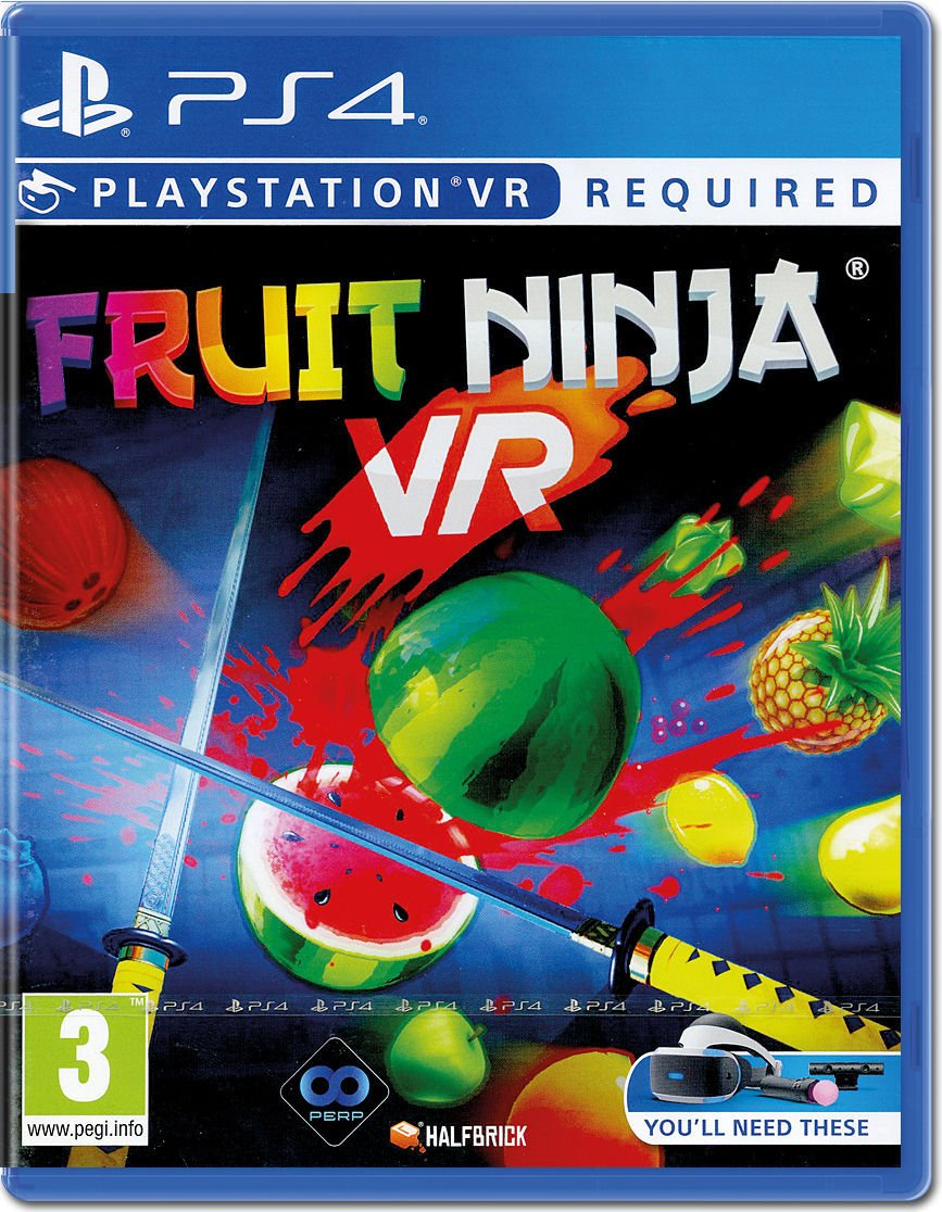 Fruit Ninja (PSVR/PS4) (PS3)
