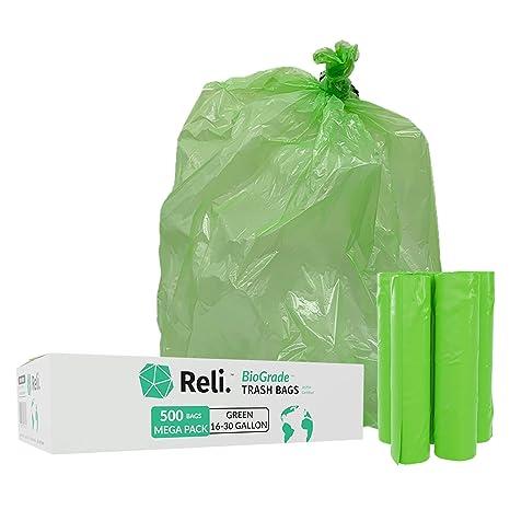 Reli. Biostar bolsas biodegradables para basura, 16 - 30 ...