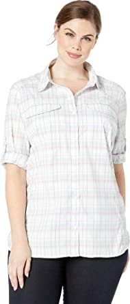 Columbia Womens Silver Ridge Iite Plaid Long Sleeve Shirt