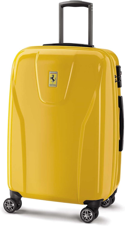 Ferrari Roller Case 60 L Yellow Amazon De Luggage