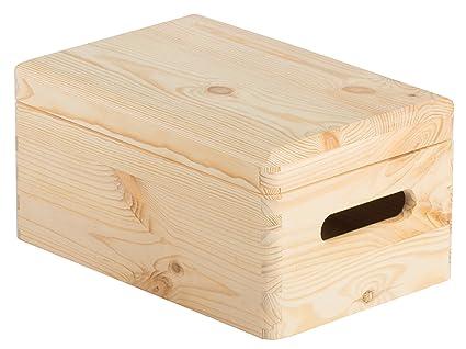 ASTIGARRAGA KIT LINE Caja de madera con tapa 30x20x14