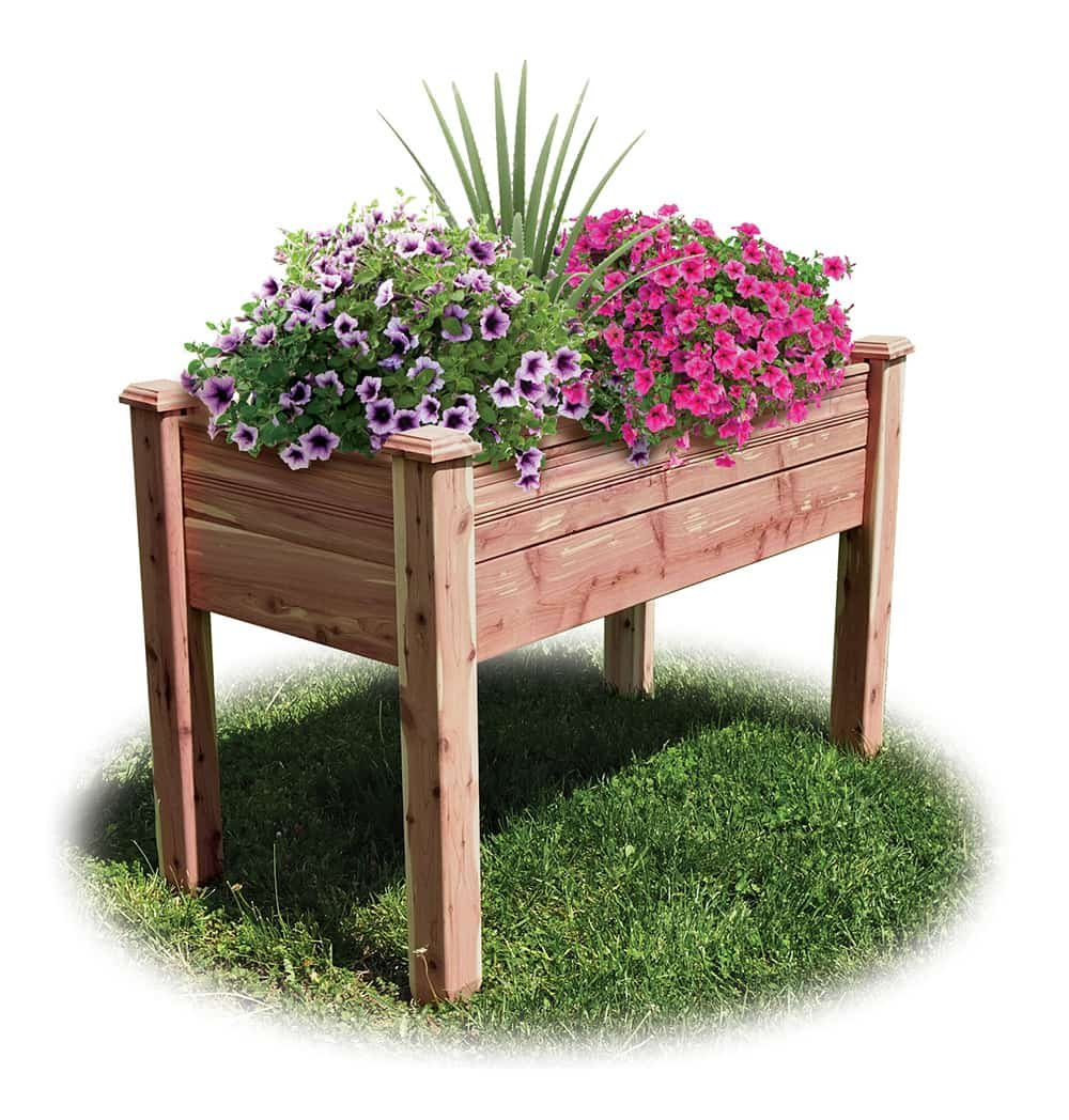 Elevated Garden Bed Kit by CLASSIC BALUSTER LLC