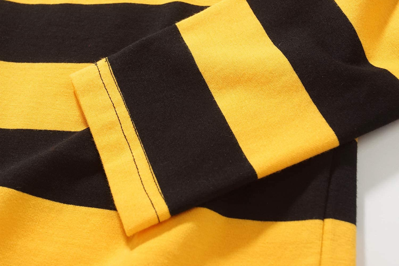 fdf6f6e3ae0c34 SSLR Mens Cotton Crew Neck Casual Long Sleeves Stripe T-Shirt SN-1349