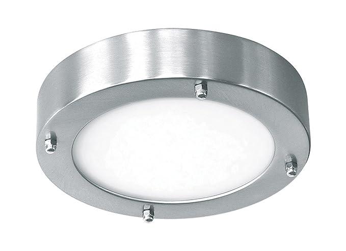 Ranex verona 3000021 ceiling light stainless steel glass 19 cm ranex verona 3000021 ceiling light stainless steel glass 19 cm aloadofball Images