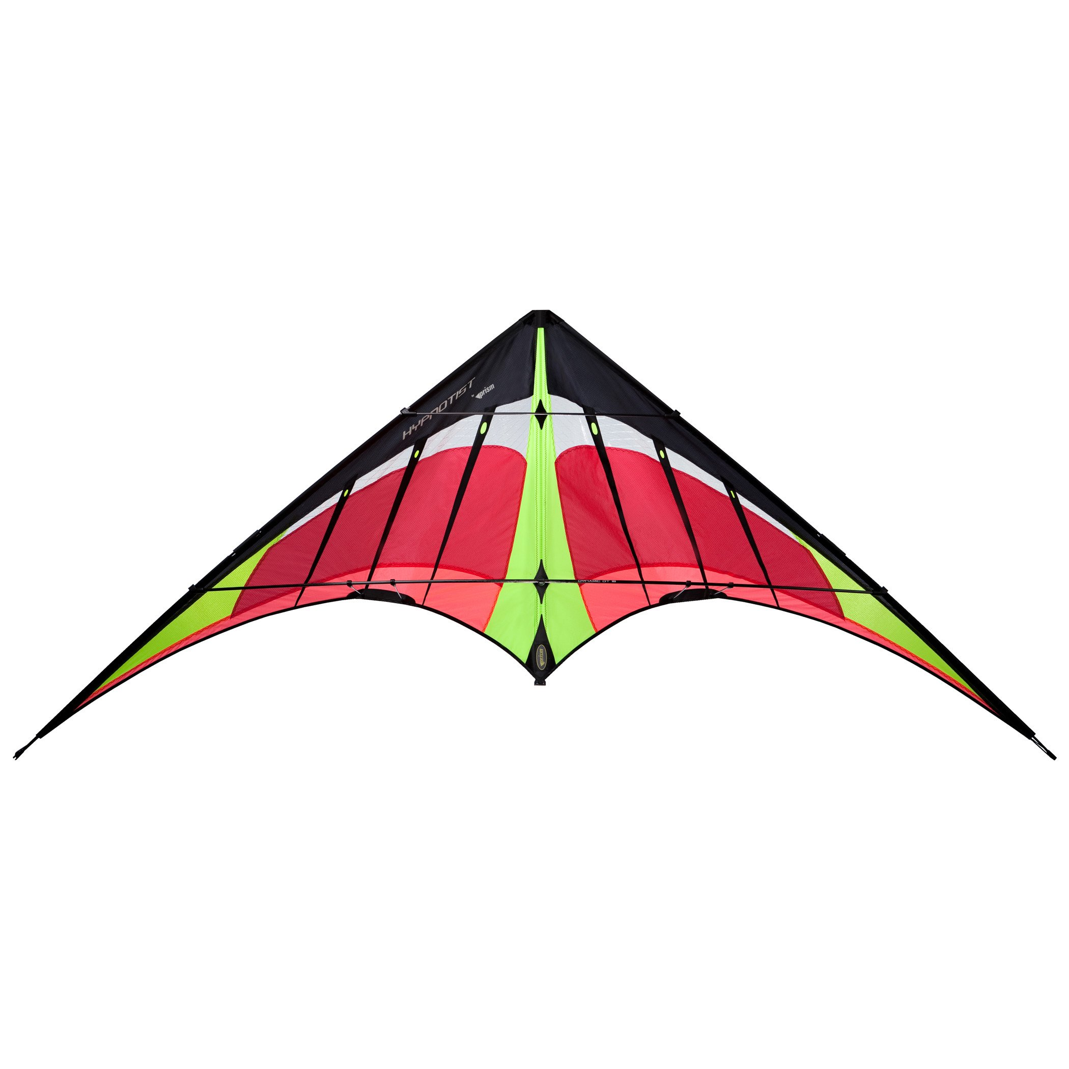 Prism Hypnotist Dual-line Stunt Kite, Fire by Prism Kite Technology