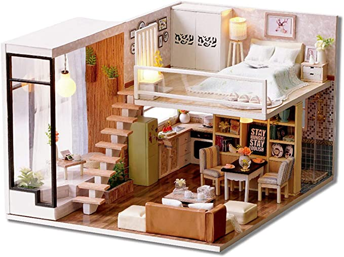 Casa De Muñecas Caoba Queen Ann cómoda en miniatura muebles de dormitorio
