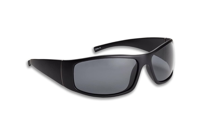 c97dbd06db Amazon.com   Fisherman Eyewear Bluefin Original Polarized Sunglasses (Matte  Black Frame