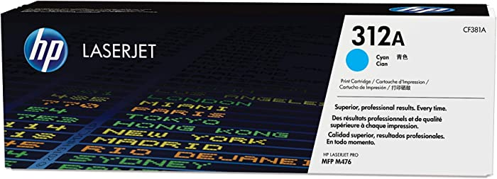 HP 312A | CF381A | Toner Cartridge | Cyan