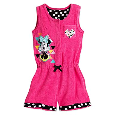90d83a133c2d Amazon.com  Disney Minnie Mouse Swim Cover-Up for Girls - Pink  Clothing