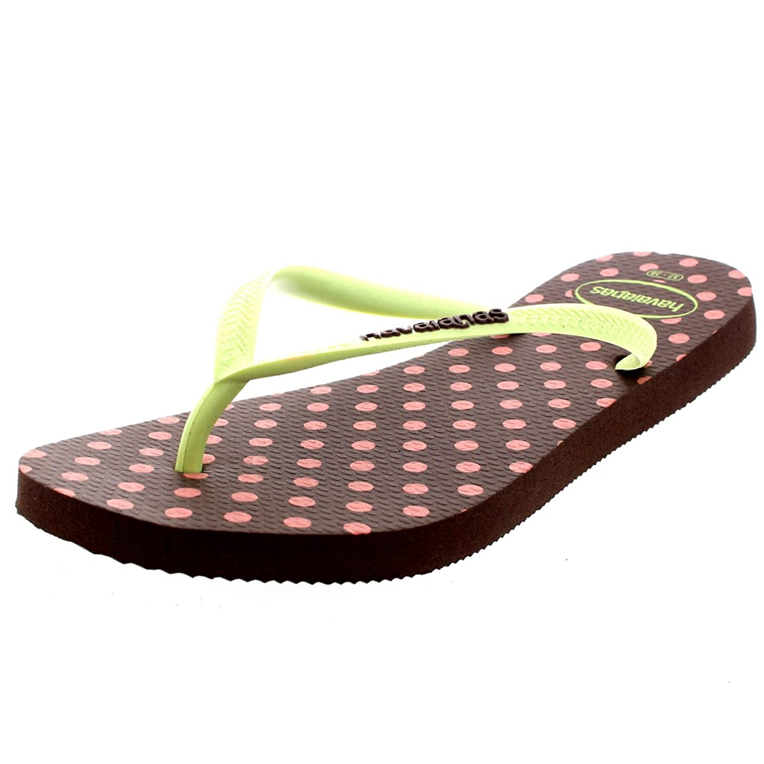 Womens Haviannas Slim Fresh Pop Up Casual Beach Holiday Flip Flop Sandals:  Amazon.co.uk: Shoes & Bags
