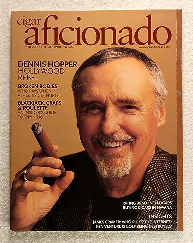 Dennis Hopper Hollywood Rebel Cigar Aficionado Magazine