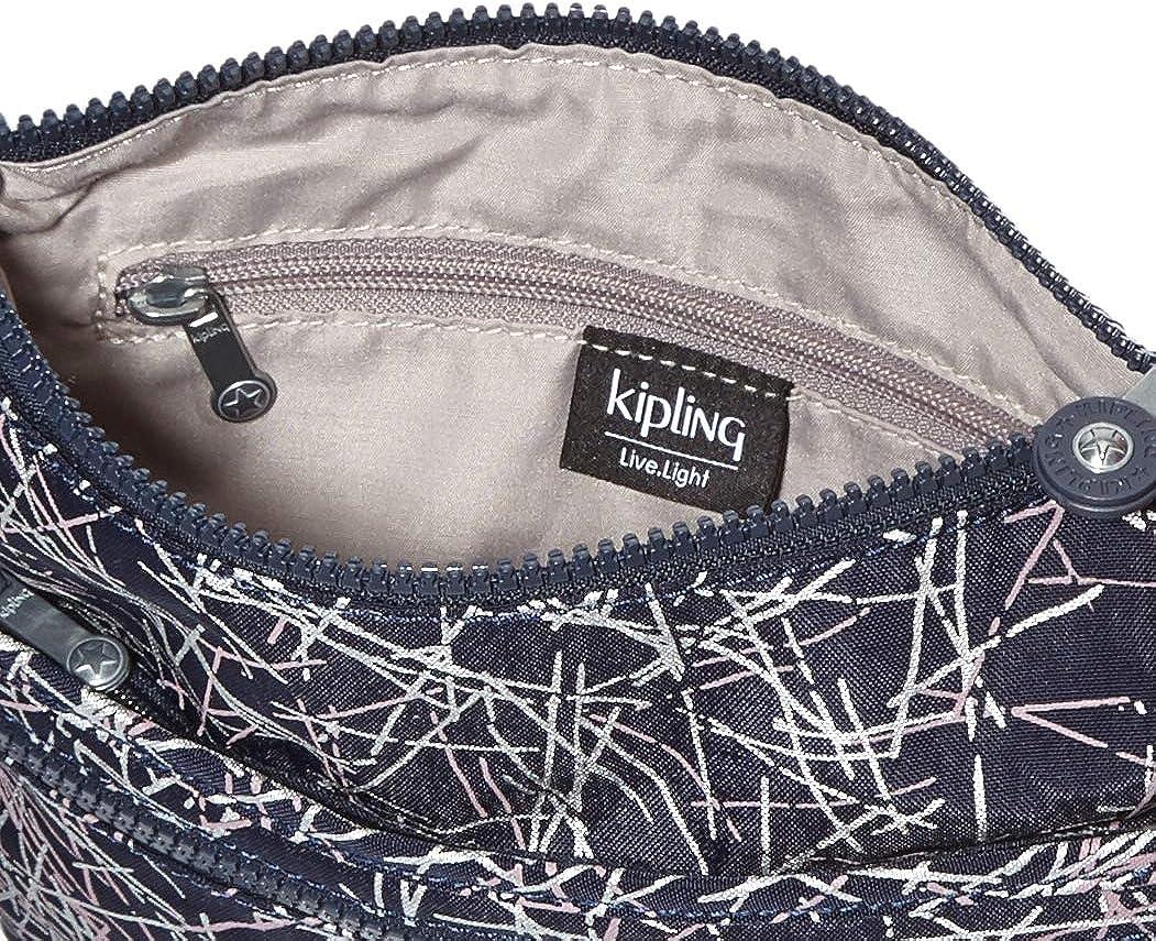 Kipling - Arto S, Borse a tracolla Donna Multicolore (Navy Stick Print)