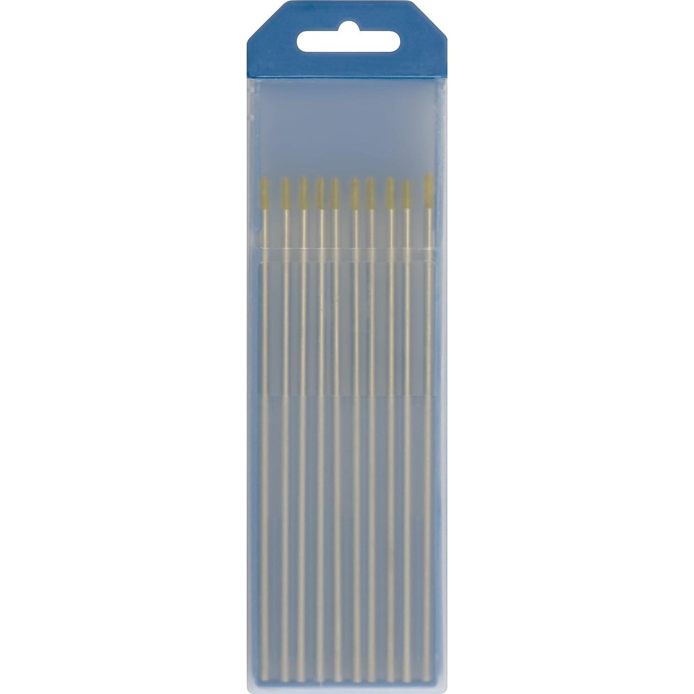Abratools - Electrodo tungsteno ace/inoxidable dorado 1,6 ...