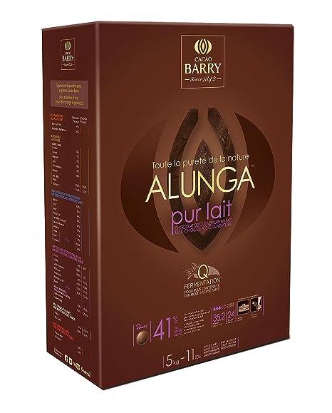 Barry Alunga - Chocolate con leche para cobertura (5 kg, 41%)
