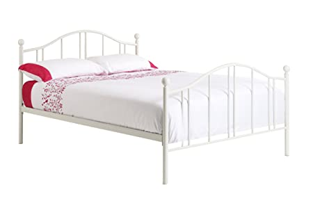 Home Stores Online Uk Furniture Chester Metal Bed Frame With Econ