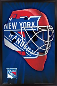 Trends International NHL New York Rangers - Mask 16 Wall Poster, 22.375