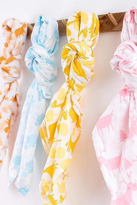Couverture demmaillotage pour nouveau-n/é couverture /épaisse et chaude en tricot pour poussettes pour nouveau-n/é sac de couchage pour b/éb/é de 0 /à 12 mois
