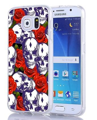 Amazon.com: S6 Carcasa Mandala, Samsung Galaxy S6 Carcasa ...