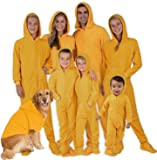 Footed Pajamas - Family Matching Hoodie Onesies | One Piece Boys, Girls, Men, Women Pjs and Pets Sweaters | Unisex
