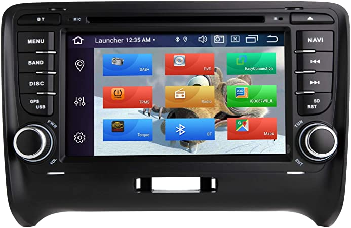 Zltoopai Car Multimedia Player For Audi Tt Mk2 Android 10 Octa Core 4g Ram 64g Rom 7 Ips Screen Double Din Car Radio Audio Stereo Gps Navigation Dvd Player Navigation